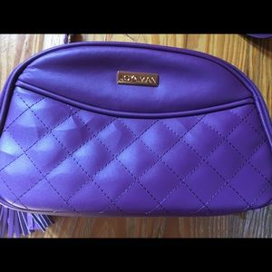 Joy & Iman RFID Crossbody Purple Purse